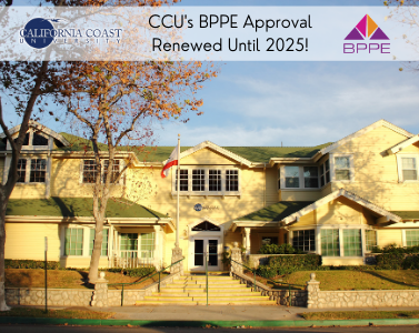 CCU's BPPE Approval Renewed Until 2025!