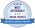 Logo Most Affordable Online Degrees - SR Education