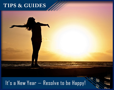 It's a New Year — Resolve to be Happy!