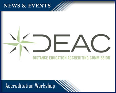 Picture of Accreditation:  DEAC Fall Workshop 2016