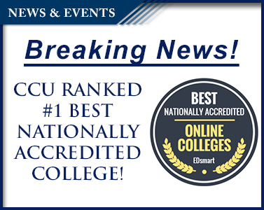 Picture of CCU Ranked #1 Best Nationally Accredited Online College