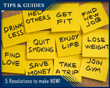 Five Resolutions to Make Now