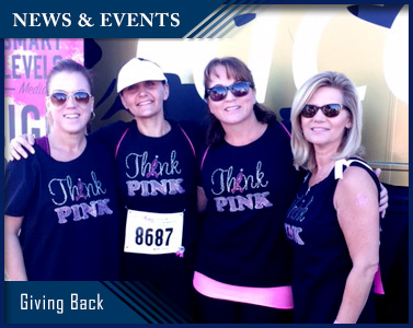 Picture of Giving Back: Susan G. Komen Race for the Cure