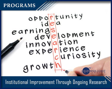 Institutional Improvement Through Ongoing Research