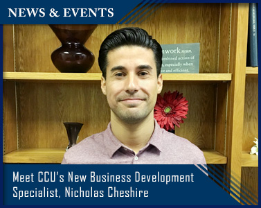 Introducing CCU's Business Development Specialist - Nicholas Cheshire