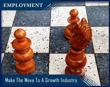 chess pieces - make the move to a growth industry