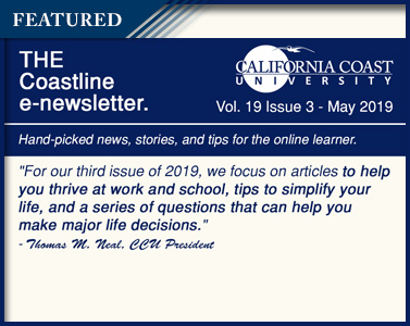 Letter from the President - Coastline E-Newsletter May 2019