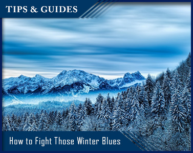 How to Fight Those Winter Blues