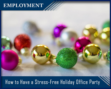 Picture of How to Have a Stress-Free Holiday Office Party