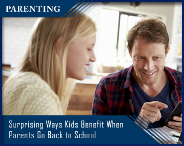 Picture of Surprising Ways Kids Benefit When Parents Go Back to School
