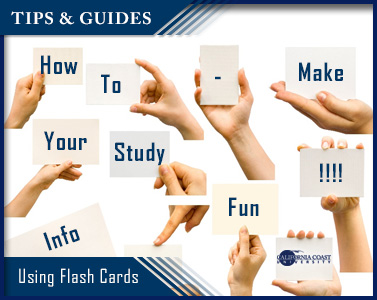 how to make study fun flash cards