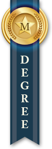 Master's Degree Ribbon Dark Blue